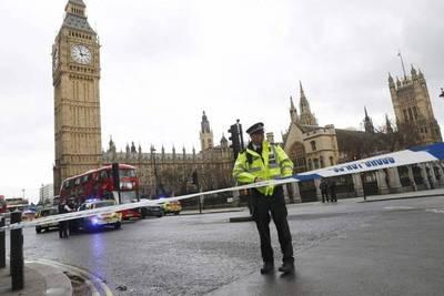 Un muerto en el ataque terrorista frente al Parlamento británico