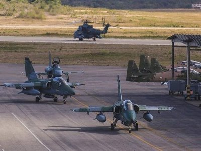 Brasil manda aviones de guerra cerca de Pedro Juan y pueden derribar vuelos sospechosos