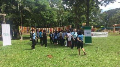 Realizan safari estudiantil por el Día del Agua en Curuguaty