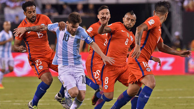 "Argentina- Chile se enfrentan en partido ""clave"""