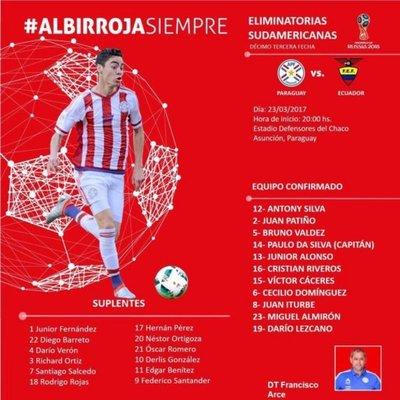 Los once de Paraguay