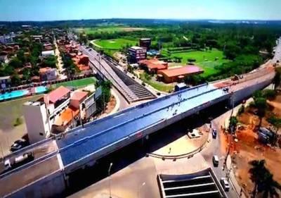 Colocan última carpeta asfáltica en superviaducto