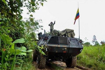 Fuerzas Militares de Colombia garantizaron salida de soldados venezolanos