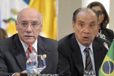 Canciller brasileño visita Paraguay con el objetivo de afianzar lazos políticos y económicos