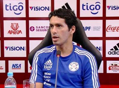 """Cristian Riveros: """"Tenemos que jugar sin temor"""""""