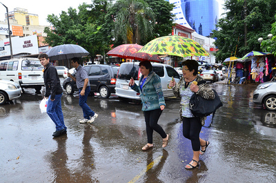 Continúan las precipitaciones en nuestro país