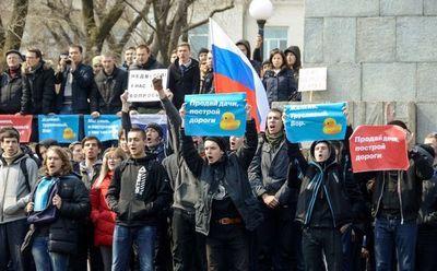 Arrestaron en Moscú al principal rival de Putin