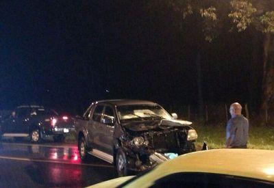 Joven muere tras choque frontal entre dos vehículos
