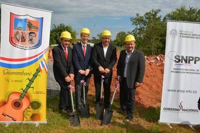 Construirán moderno local para formar a jóvenes de Guarambaré