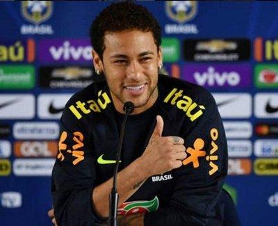 """Neymar: """"Esperamos que contra Paraguay hagamos otro buen partido"""""""