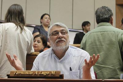 Fernando Lugo, ausente en sesión del Senado