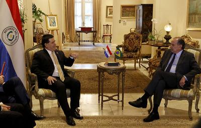 Negociación de Itaipú, puentes y seguridad, fueron temas tratados