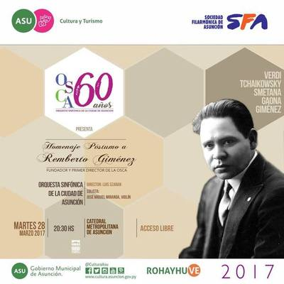 La OSCA celebra sus 60 años homenajeando a su fundador