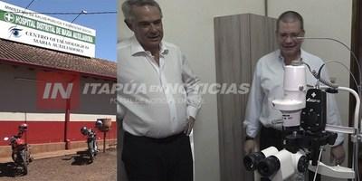 REFACCIÓN Y DONACIÓN DE EQUIPOS AL CENTRO OFTALMOLÓGICO DE MA. AUXILIADORA.