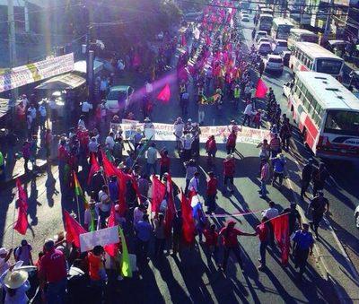 La Vigésima cuarta marcha campesina