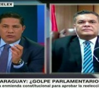 "Acevedo: ""Quieren instalar la dictadura"""