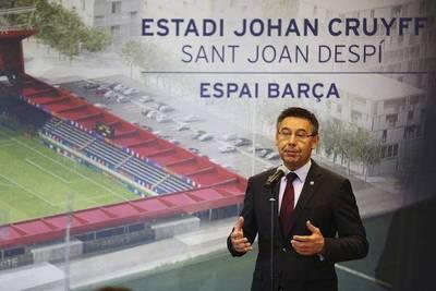 Un estadio en honor a Cruyff en Barcelona