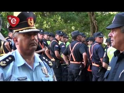 100 POLICÍAS DE ITAPÚA VIAJARON A LA CAPITAL PARA REFORZAR SEGURIDAD