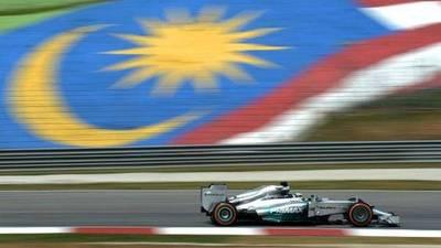 F1: Malasia rompe con 19 años de tradición