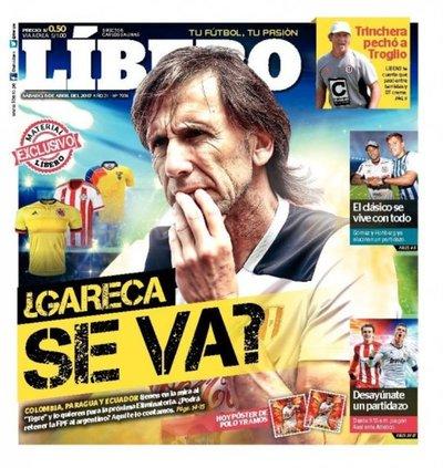 ¿Gareca viene a Paraguay?