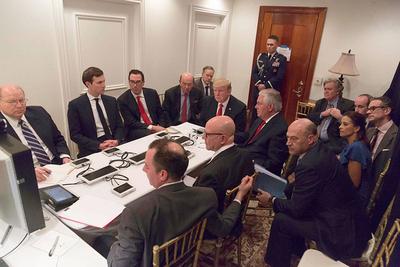 Trump logra su primera victoria política con el bombardeo a Siria