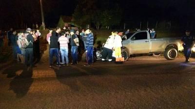 MENOR AL MANDO DE UNA MOTO SUFRE GRAVE ACCIDENTE EN PIRAPEY.