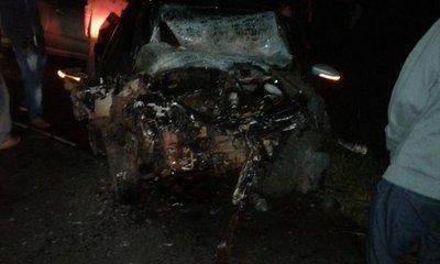 Un fallecido tras choque de vehículos en San Pedro