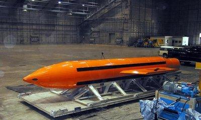 Bomba MOAB estadounidense estalló en Afganistán