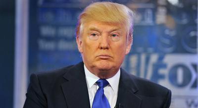 Trump ataca a los medios y  reivindica su política exterior