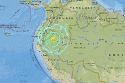 Sismo sacudió región amazónica entre Perú y Ecuador