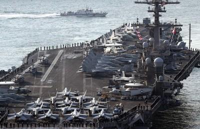 EEUU muestra su poder para intimidar a NorCorea
