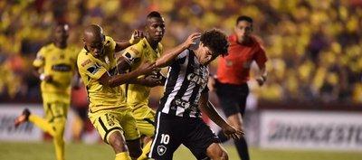 Barcelona y Botafogo empatan y siguen líderes en el Grupo 1