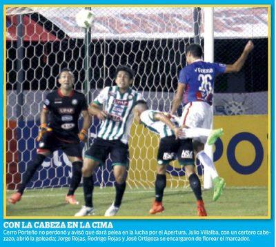 Cerro tiñó de goles al RUBIO
