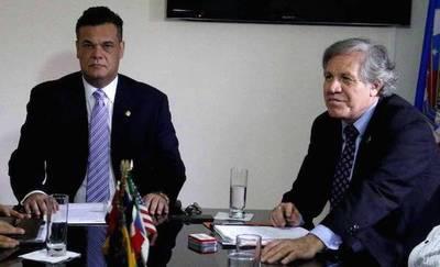 PLRA pide a Almagro la mediación de OEA en Paraguay