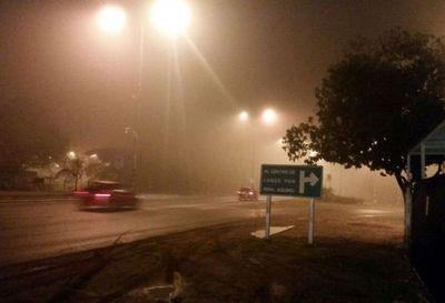 Vuelos retrasados por neblina