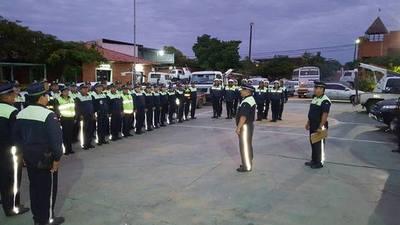 Policías inician cobertura debido a maratón