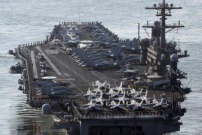 Corea de Norte amenaza con hundir portaviones estadounidense