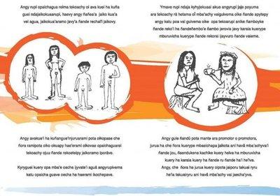 Hablan de educación sexual en mbya guaraní