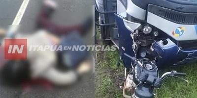 JOVEN FALLECE EN ACCIDENTE RUTERO EN CERCANÍAS DEL AGUAPEY
