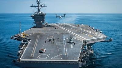 Portaaviones de EE.UU. realizan ejercicios conjuntos con Japón