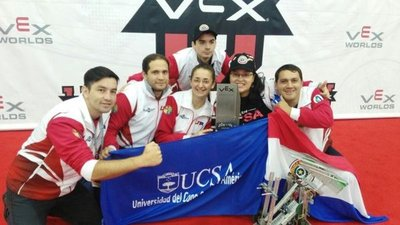 Universitarios paraguayos obtienen un premio en Mundial de Robótica