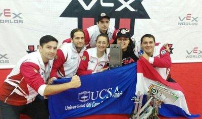 Universitarios paraguayos galardonados en Mundial de Robótica