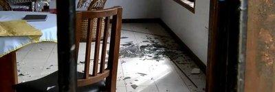 Destrozos en albergue de niños durante megaasalto