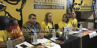 UNAE LANZÓ LA LIBROFERIA 2017 HOMENAJE A ROA BASTOS