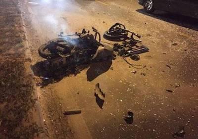 Tras accidente en Luque falleció motociclista