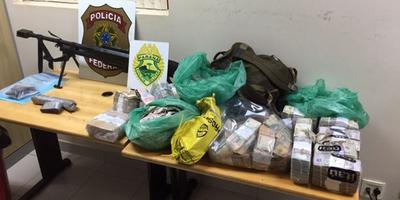 CASO PROSEGUR: POLICÍA FEDERAL DE BRASIL MUESTRA EVIDENCIA INCAUTADA