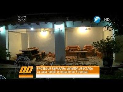 Prosegur cubrirá los gastos para reparar vivienda afectada