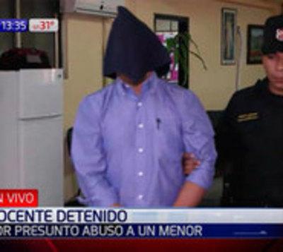 Luego de 5 años capturan a docente denunciado por abuso de un menor