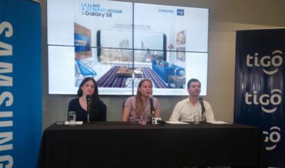 """Samsung Paraguay y Tigo lanzan promoción, """"La llave de tu nuevo hogar, es un Galaxy S8"""""""