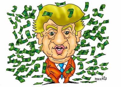 """Donald Trump dice que México """"al final"""" pagará por el muro fronterizo"""